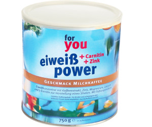 For You Eiweiss Power Milchkaffee (750 g)