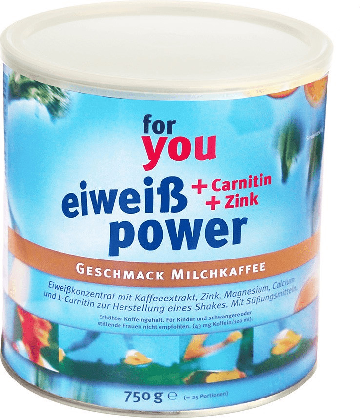 For You Eiweiss Power Milchkaffee (750 g)