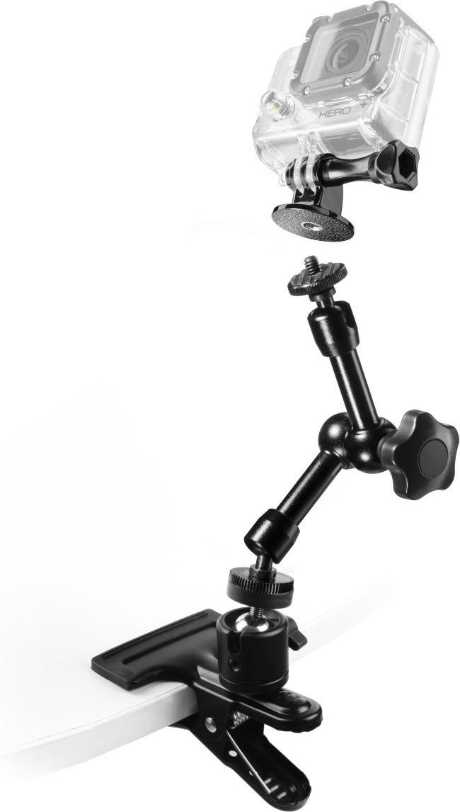 Mantona GoPro Clamp Set I