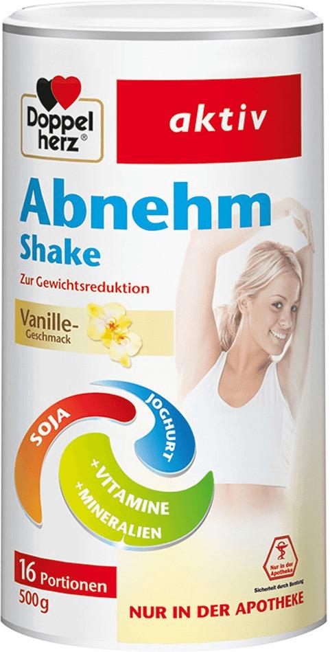 Abnehm Shake Vanille Pulver (500 g)