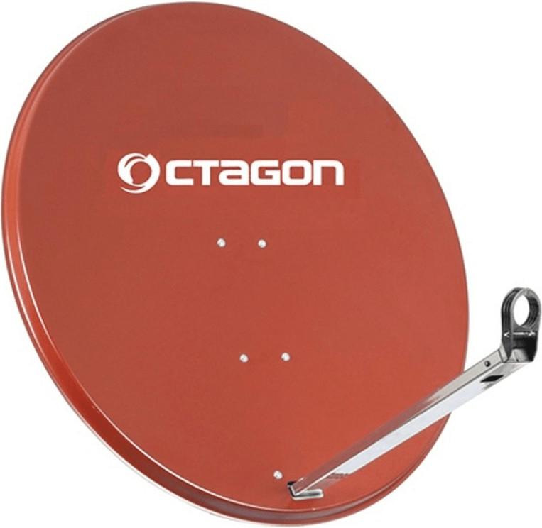 Octagon Sat Schüssel Antenne Spiegel 65cm Ziege...