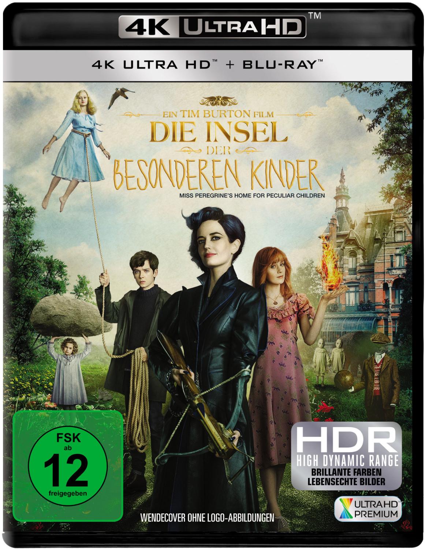 Die Insel der besonderen Kinder (4K Ultra HD) [Blu-ray]