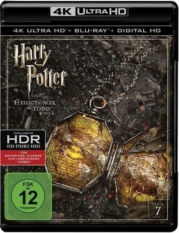 Harry Potter und die Heiligtümer des Todes Teil 1 (4K Ultra HD ) [Blu-ray]