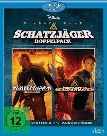 Tempelritter 1+2 - Schatzjäger Doppelpack [Blu-ray]