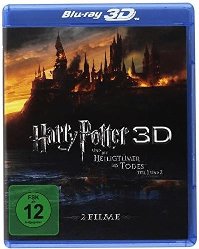 Harry Potter und die Heiligtümer des Todes 1+2 3D [Blu-ray]