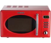 SCHNEIDER Mikrowelle feuerrot 20 Liter 700 Watt Retro Design