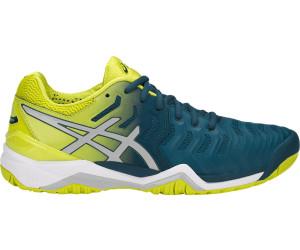 GEL-RESOLUTION 7 CLAY - Tennisschuh Outdoor - ink blue/sulphur spring /white bADLP5