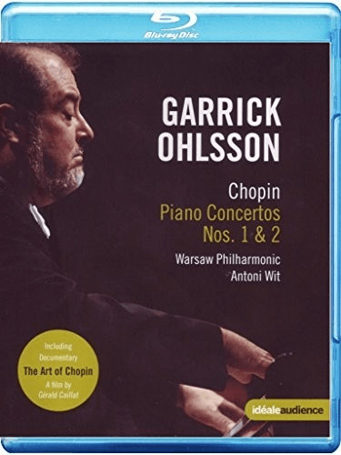 Chopin: Klavierkonzerte [Blu-ray]