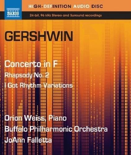 Gershwin: Klavierkonzert in F/Rhapsodie 2 [Blu-...