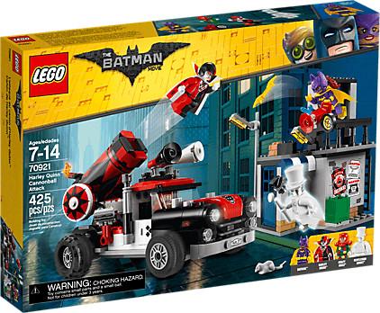 LEGO Batman - Harley Quinn Kanonenkugelattacke (70921)