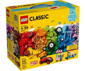 lego classic la bo te de briques et de roues lego 10715 au meilleur prix sur. Black Bedroom Furniture Sets. Home Design Ideas