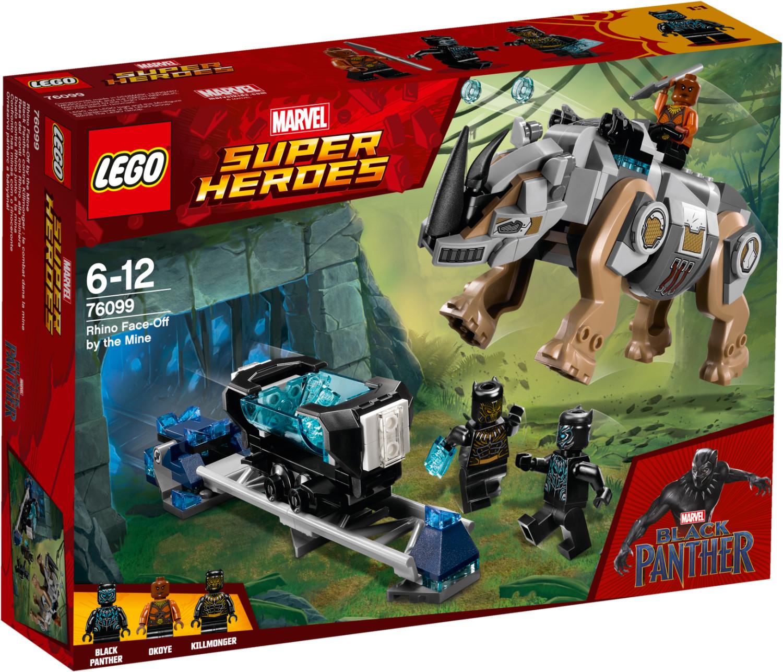 LEGO Marvel Super Heroes - Black Panther contre Killmonger : le combat dans la mine (76099)