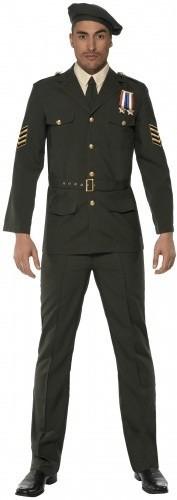 Smiffy's Offizier Militär Kostüm M