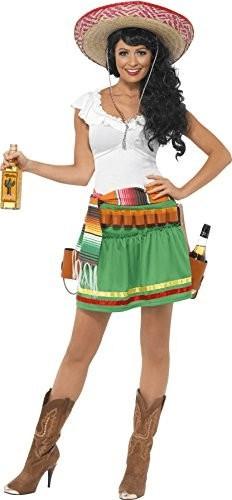 Smiffy's Tequila Shooter Mexikanerin Kostüm M