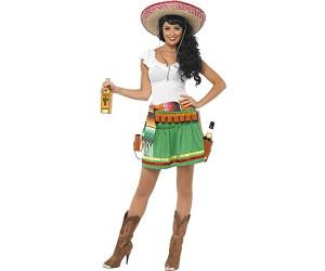 Smiffy's Tequila Shooter Mexikanerin Kostüm XS