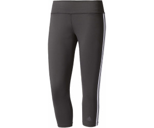 3c19efb46190ca Adidas Performance Leggings Essentials 3 Stripes schwarz weiß ab 17 ...