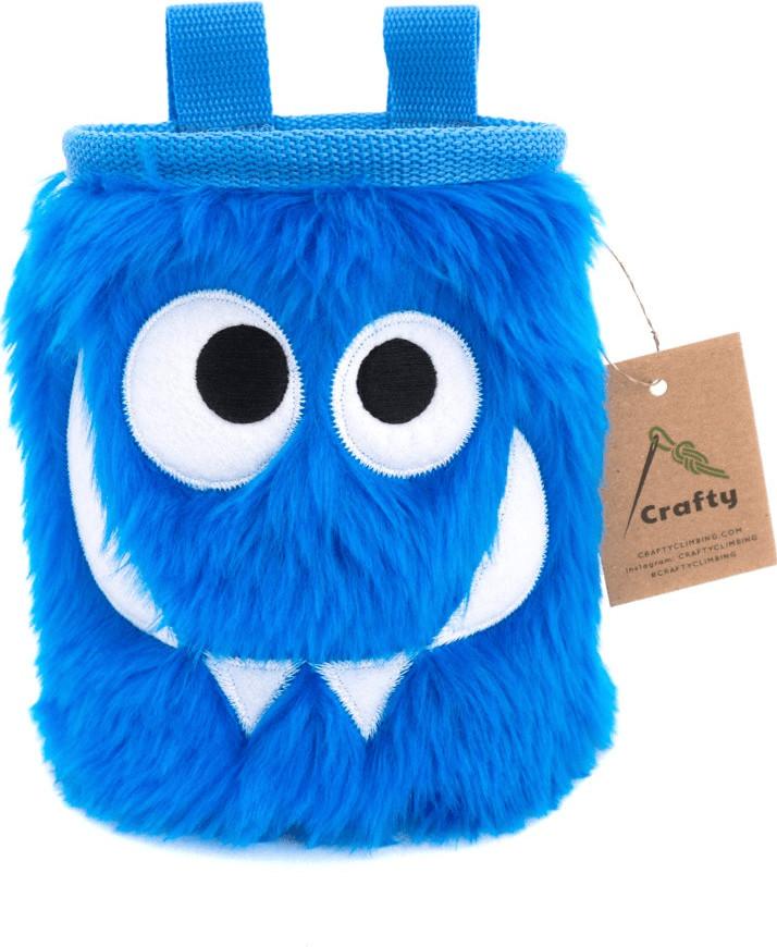 Crafty Foodie Monster (blue)