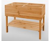 promadino hochbeet auf beinen 100 x 50 x 80 cm ab 75 74 preisvergleich bei. Black Bedroom Furniture Sets. Home Design Ideas