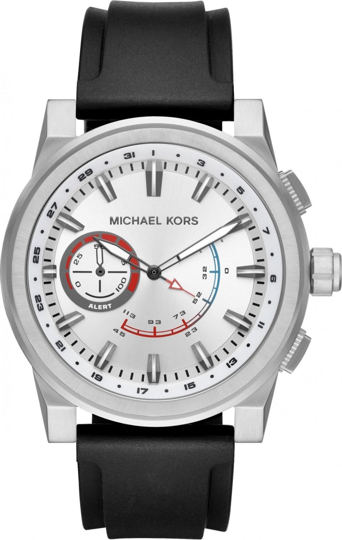 Image of Michael Kors Access Grayson Hybrid silver