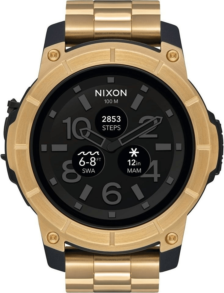 Nixon Mission SS gold