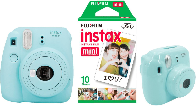 Fujifilm Instax Mini 9 Ice Blue Discount Set
