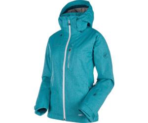Mammut Stoney Hs Thermo Jacket Women Aqua White Melange Ab
