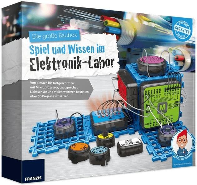 Franzis Die große Baubox: Spiel und Wissen im E...