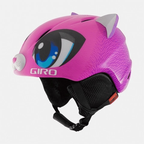 Giro Launch Plus pink meow