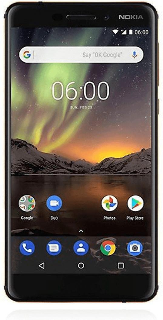 Nokia 6 (2018) 32GB schwarz