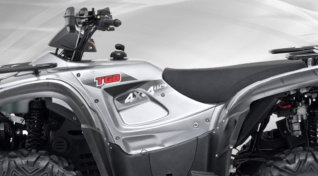 TGB Blade 600 EFI 4x4 Aluminiumsilber