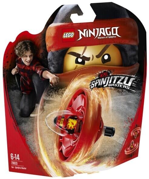 LEGO Ninjago Spinjitzu-Meister Kai (70633)