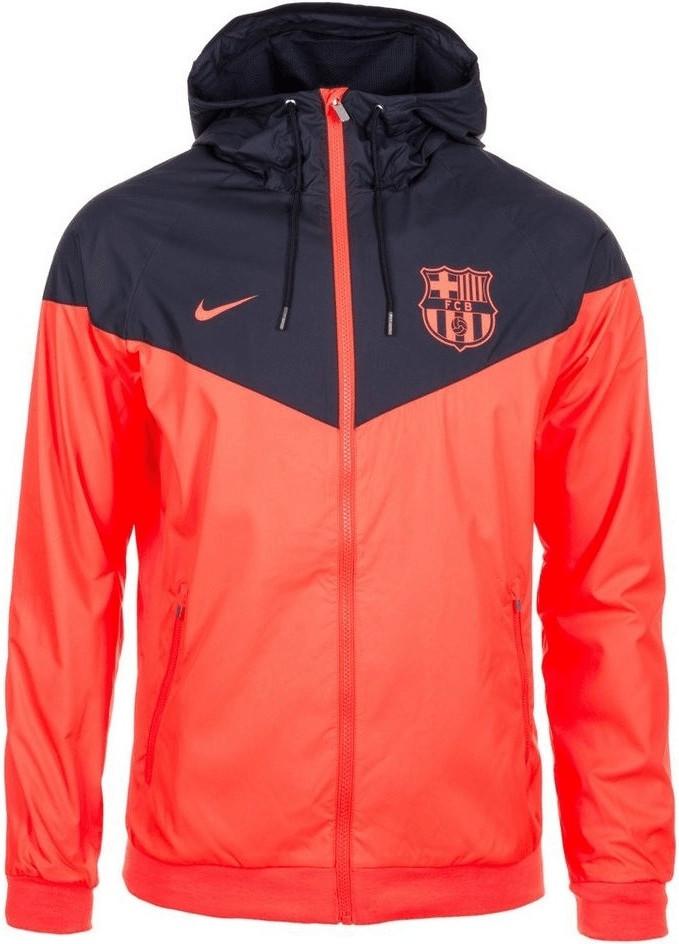 Nike FC Barcelona Windrunner Kapuzenjacke orang...