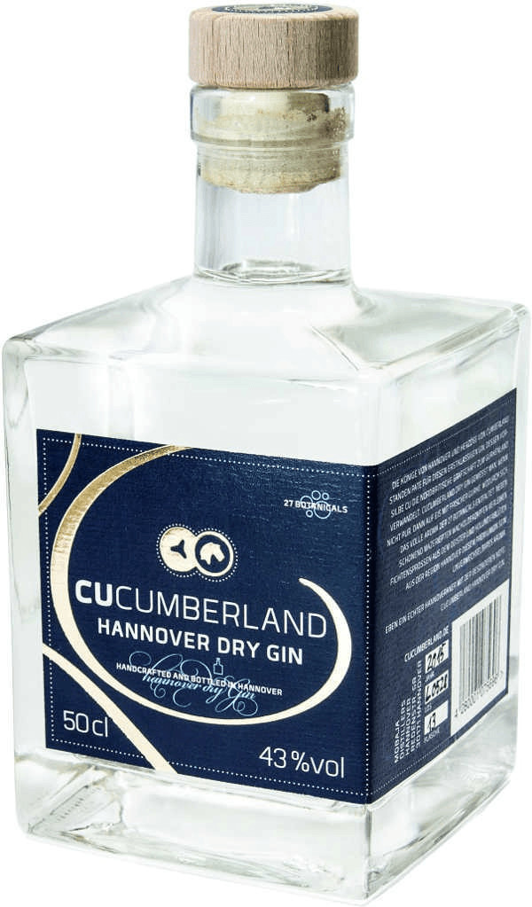 Cucumberland Hannover Dry Gin 0,5l 43%