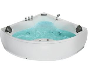beliani baignoire d 39 angle baln o senado au meilleur prix. Black Bedroom Furniture Sets. Home Design Ideas