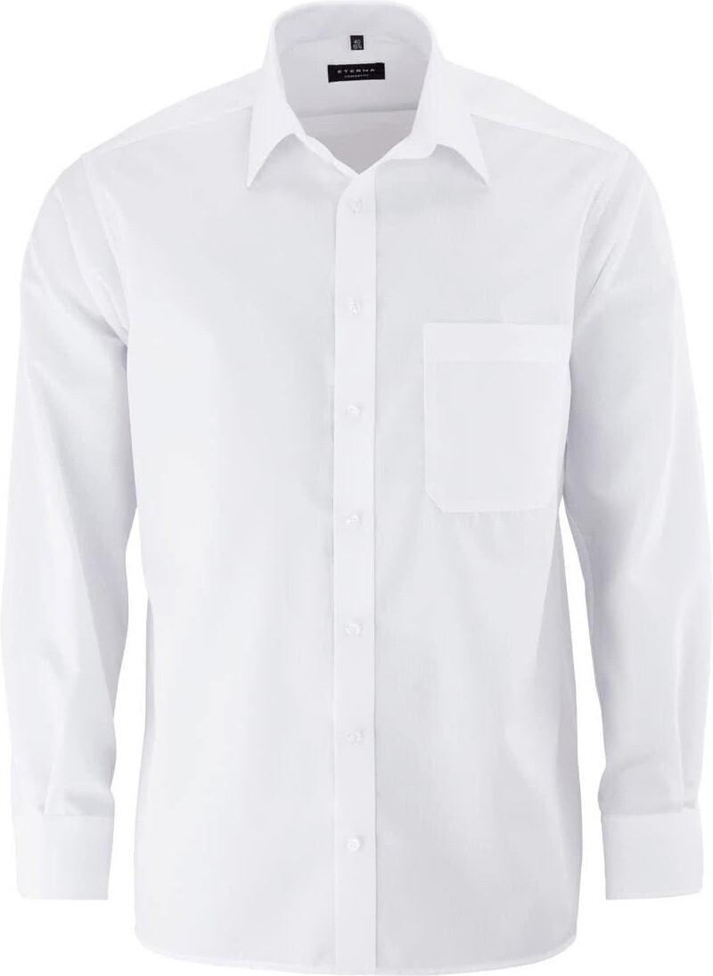ETERNA Herren Langarm Business Hemd Comfort Fit BD weiß Patch 8103.00.ED44