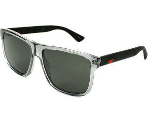 939a4b0f57c Buy Gucci GG0010S 004 (grey grey) from £174.00 – Best Deals on ...