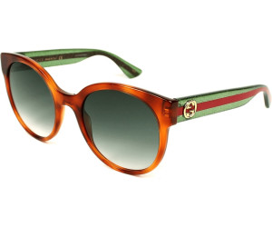 f56d61ddb80 Buy Gucci GG0035S 003 (havana green) from £159.00 – Best Deals on ...