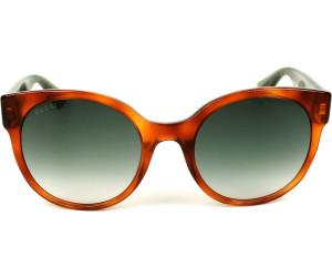 37bb88cb553 Buy Gucci GG0035S 003 (havana green) from £159.00 – Best Deals on ...