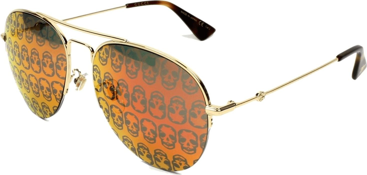 Gucci GG0107S 002 (gold/orange)