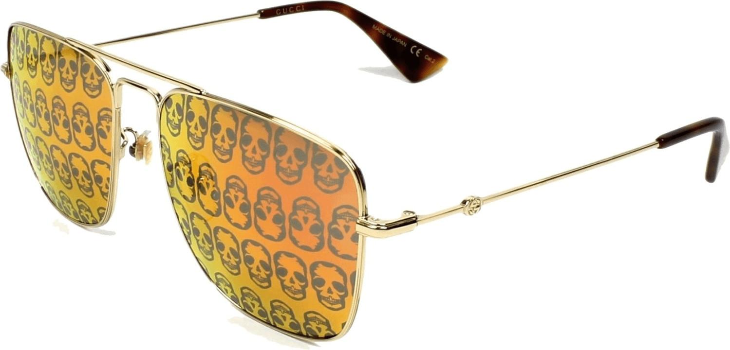 Gucci GG0108S 002 (gold/orange)
