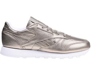 68b775476897d Reebok Classic Leather Women pearl metallic grey gold white ab 44