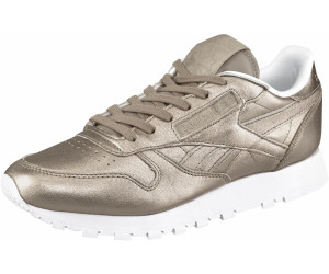 presenting cost charm discount Reebok Classic Leather Women pearl metallic/grey gold/white ...