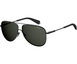 Polaroid Herren Sonnenbrille » PLD 2054/F/S«, schwarz, 003/M9 - schwarz/grau