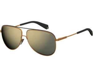 Polaroid Herren Sonnenbrille » PLD 2054/S«, gelb, 210/LM - gelb/ gold