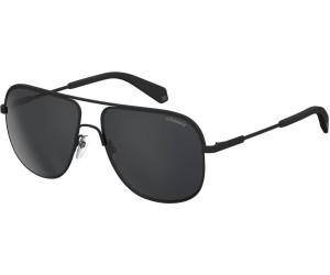 Polaroid Herren Sonnenbrille » PLD 2055/S«, schwarz, 003/M9 - schwarz/grau