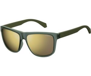 Polaroid Herren Sonnenbrille » PLD 2057/S«, grün, DLD/LM - grün/ gold