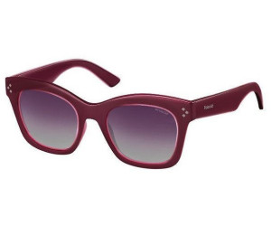 Polaroid Damen Sonnenbrille » PLD 4039/S«, blau, LK9/Z7 - blau/blau