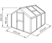 gew chshaus gew chshauswand 16 mm doppelstegplatten preisvergleich g nstig bei idealo kaufen. Black Bedroom Furniture Sets. Home Design Ideas