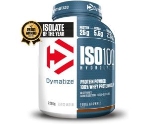 Dymatize Iso100 Hydrolyzed 100% Whey Protein Isolate 2200g Fudge Brownie