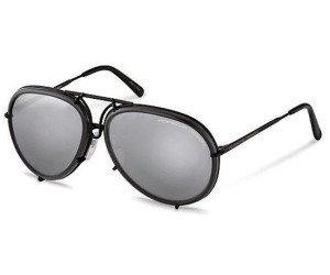 PORSCHE Design Porsche Design Sonnenbrille » P8613«, grau, D - grau/ grün
